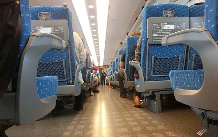 japanska kön på tåg